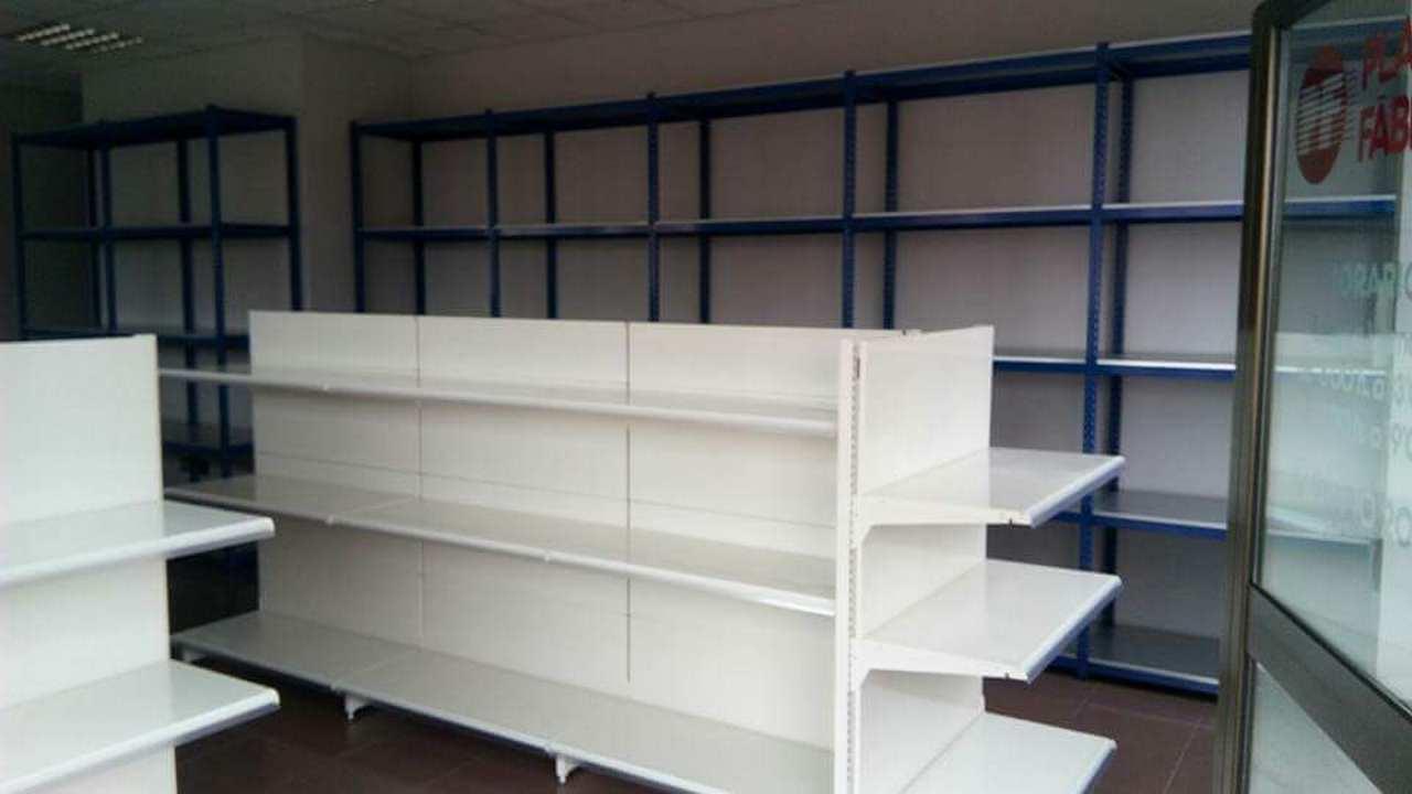 Estanter as met licas modulares supermercado y almac n - Estanterias metalicas modulares ...